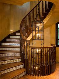 wood tile staircase houzz