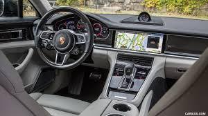 porsche cars interior 2017 porsche panamera turbo color volcano grey us spec