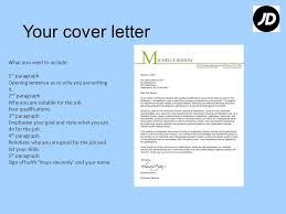 Jd Resume Content Preparing Your Cv What To Include In Your Cover Letter