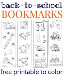 print u0026 color bookmarks coloring pages bookmarks