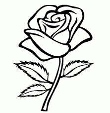 simple flower coloring pages flower coloring pages image 16