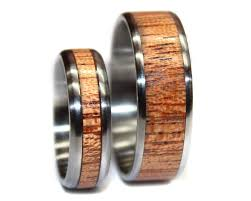 wooden wedding ring sets metal wood ring archives wooden rings