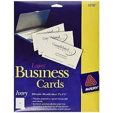 Ivory Business Cards Avery Laser Business Cards Ivory 2