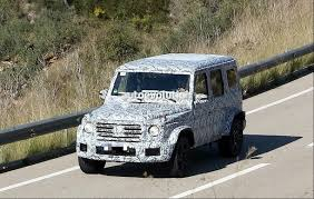 2019 mercedes amg g63 starts testing with new body and powertrain