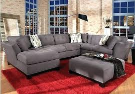 gray sectional with ottoman extraordinary sectional with ottoman and chaise 2 collection blue