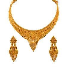 necklace sets design images Glossy finish traditional design gold necklace sets 4se619 jpg
