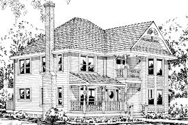 Victorian Style House Plans Victorian House Plans Astoria 41 009 Associated Designs