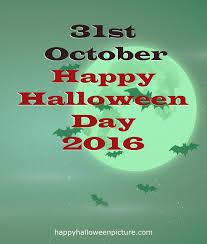 happy halloween 2016 date