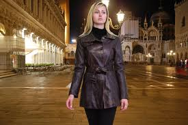 higgs leathers buy trish ladies leather trench coats online at