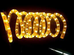 electric light decoration on diwali wanker for