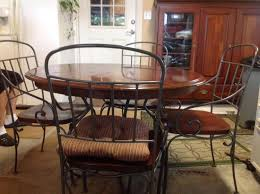 kincaid dining room set find more kincaid solid wood with wrought iron legs breakfast set