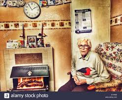 what to get an elderly woman for christmas elderly woman living alone at christmas suffolk stock