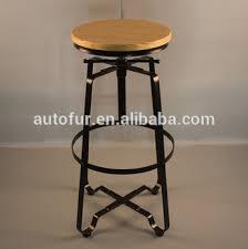 metal bar table set vintage wood metal bar stool and bar table set for cafe restaurant