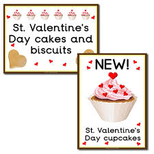 st s day signs for your play cake shop primary
