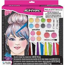Gifts For Makeup Artists Project Runway Make Up Artist Sketch Set Educational Toys Planet