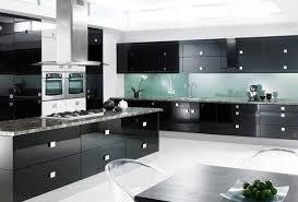 black gloss kitchen ideas black gloss kitchen cabinets spurinteractive