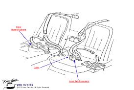 1968 corvette seats 1968 corvette seats belts parts parts accessories for