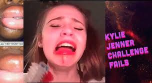 The Challenge Fails Jenner Challenge Fail Compilation Kyliejennerchallenge