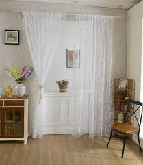 tende in pizzo francese 100 200cm tenda tulle pizzo con farfalla disegno decorazioni