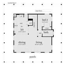beach style house plan 2 beds 2 00 baths 1527 sq ft plan 64 134