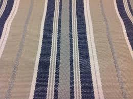 robert allen blue striped upholstery fabric canyon stripe denim