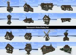 medieval building pack schems and world dl minecraft project