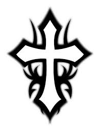 tribal cross tattoos on cross tattoos cross