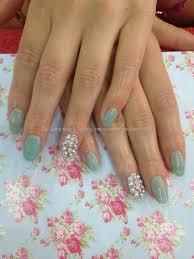 eye candy nails u0026 training mint gel polish overlays with
