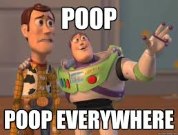 Baby Poop Meme - poop poop everywhere buzz lightyear quickmeme