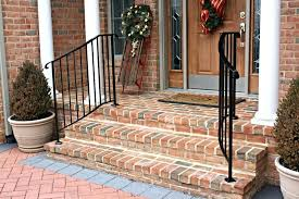 curved stair railing kits exterior railings system modern ultra