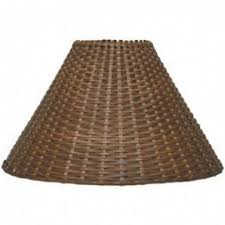 Lampshade For Floor Lamp Wicker Light Brown Lamp Shades Foter