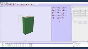 kitchen cabinet layout software easy align objects youtube