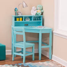 Childrens Desks With Hutch by Classic Playtime Juvenile Corner Desk And Reversible Hutch With