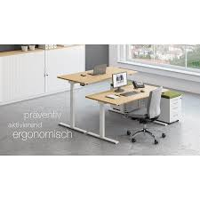 Schreibtisch Buche 100 Cm Breit Sympas Schreibtisch Typ B Von Assmann Büromöbel 100 Cm Tief 68