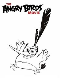kids fun 6 coloring pages angry birds movie