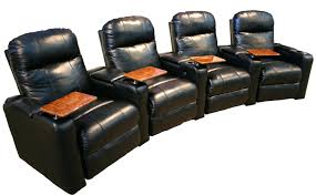 3 Seat Recliner Sofa by Black Leather 3 Seat Recliner Home Theater Seating Leather