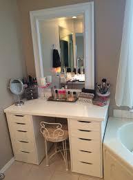 bathroom vanity with makeup counter makeup vanity double vanityith makeup counter or drawers master