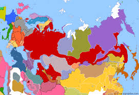 russia in maps bolshevik russia historical atlas of russia 1 february 1918