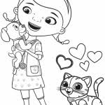 doc mcstuffins findo whispers coloring free