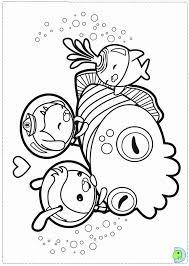 octonauts coloring coloring