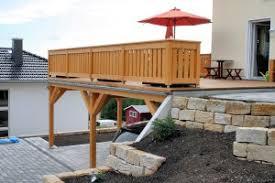 balkone holz einstöckige balkone aus holz holzbalkone vorstellbalkone und