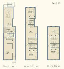 narrow house plans row house plans narrow lots homepeek