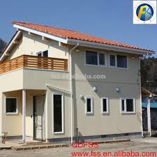 low cost luxury prefab light steel villa house 200 meters small