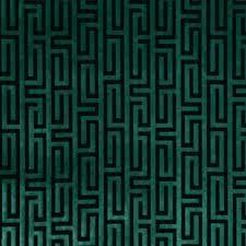 Robert Allen Drapery Fabric 222847 Velvet Maze Aquamarine By Robert Allen