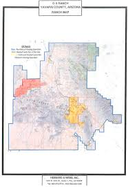 Arizona County Map O X Ranch Maps Hebbard U0026 Webb Ranch Farm Land Sales