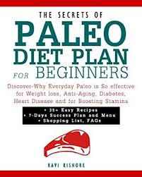 the secrets of paleo diet plan for beginners discover why