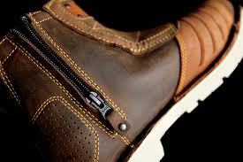 mens leather motorcycle riding boots mens icon 1000 brown leather el bajo motorcycle riding street
