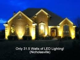 Outdoor Low Voltage Led Landscape Lighting Led Line Voltage Landscape Lighting Low Voltage Outdoor Lighting
