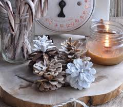 bleached and scented pine cone crafts allfreechristmascrafts com