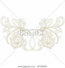 vintage ornament pattern border vector photo bigstock